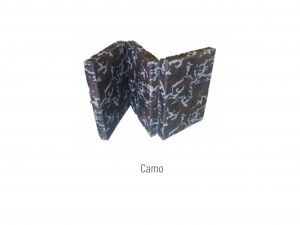 Tri Fold Camping Mattress (Memory Foam And Latex)